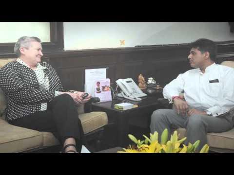 Sh. Manish Tewari meeting US Ambassador, Ms. Nancy J. Powell