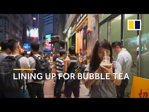 Why Hongkongers are willing to wait in line for bubble tea