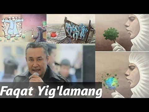 FAQAT YIGLAMANG/ DAVRON ALI - BUGUN ULAR QAHRAMON ( #Premyera )