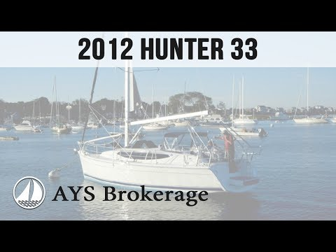 Brokerage - Summer Wind - 2012 Hunter 33 - by Annapolis Yacht Sales