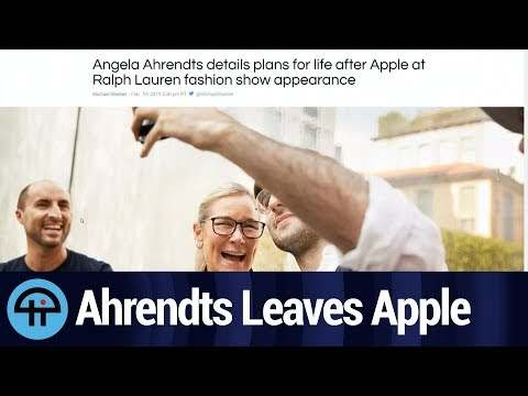Angela Ahrendts Leaves Apple