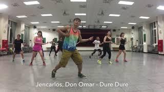 Jencarlos, Don Omar - Dure Dure by KIWICHEN Zumba