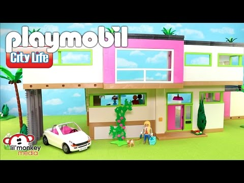Download video playmobil city life massive modern luxury for Playmobil jugendzimmer 6457