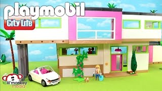 Playmobil City Life! Massive Modern Luxury Mansion Collection! Mansion Plus 12 Add-on Sets!