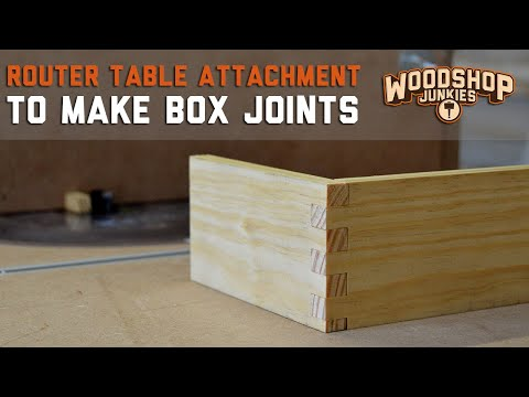 How To Make A Simple Box Joint Jig For My Router Table To Produce Perfect Joints