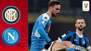 Inter 0 1 Napoli Ruiz s Superb Curler Gives Napoli The Edge Semi final Coppa Italia