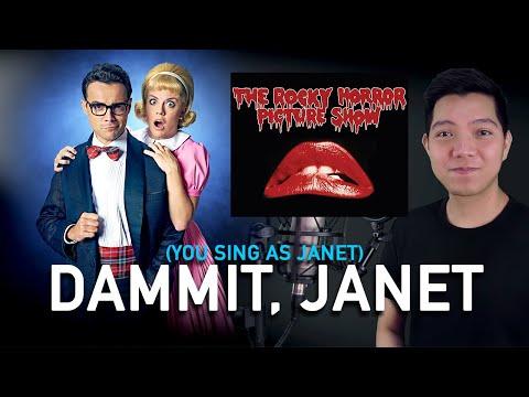 Dammit JanetBodysuitOnesieTee-Rocky Horror Picture Show
