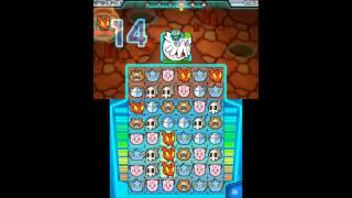 Pokemon Battle Trozei - 100% Walkthrough - Stage 6-4 (Pitch-Black Cavern) - S-Rank