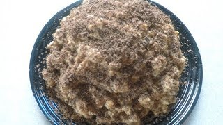Муравейник/Торт без выпечки/За 5 минут/Из печенья