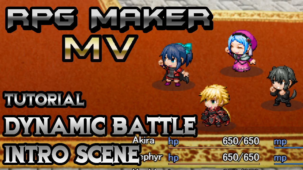 RPG Maker MV Tutorial: Dynamic Battle Intro! (YEP_BEC/ACTSQPK &  BaseTroopEvents Plugins)
