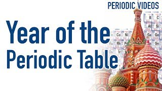 Year of the Periodic Table (in Paris and Moscow)