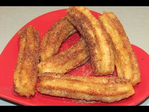 Perfect Spanish Churros Recipe. How To Make Spanish Churros?