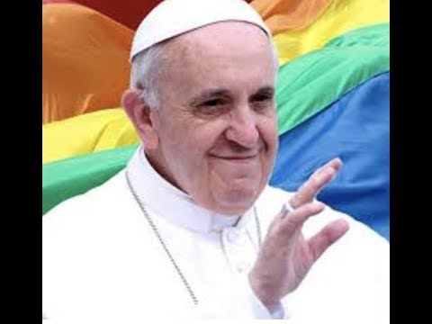 """Breaking """"Pope Francis Reportedl Says """"Ok To Be Gay"""""""