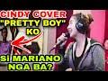 Cindy PRETTY BOY si Mariano G 😱 Simpleng Silip habang kumakanta   Sy Staff