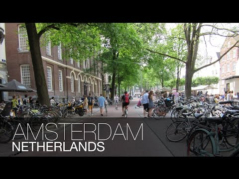 THE CITY OF BICYCLES!!   Amsterdam, Netherlands