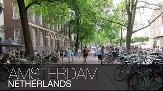 THE CITY OF BICYCLES!! | Amsterdam, Netherlands