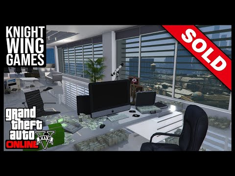 HOW TO SELL YOUR CEO OFFICE IN GTA 5 ONLINE