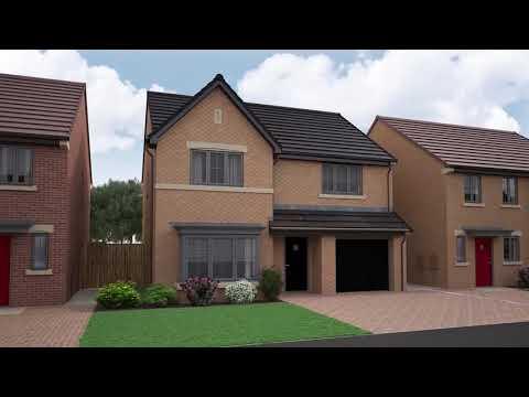 Miller Homes - Oakwood Grange, Hazlerigg, Newcastle Upon Tyne - CGI Development Video