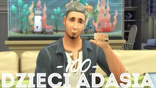 The Sims 4 Pl : Wyzwanie 100 dzieci Adama #131 - Urodziny Adasia