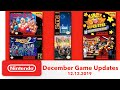 SNES and NES Games coming to Nintendo Switch Online During December 2019