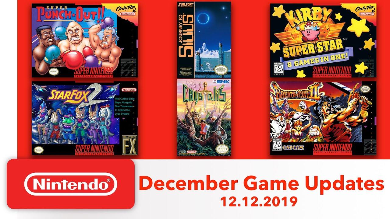 Δείτε τους νέους NES & Super NES τίτλους της Nintendo Switch Online υπηρεσίας