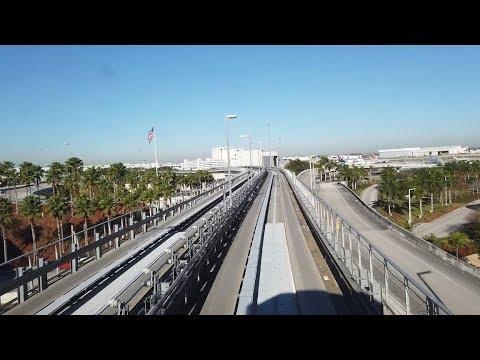 Miami, Florida - Miami International Airport MIA Mover (2019)