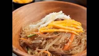Сегодня на ужин корейская лапша с говядиной чапче, или просто фунчоза с говядиной 🍜😋