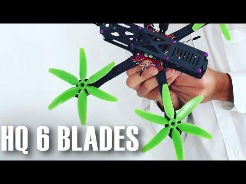 6 Blade HQ Prop Madness Flight Test - ImpulseRC Alien