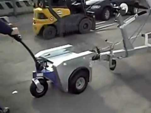 Zallys M5 Electric Tow Tractor