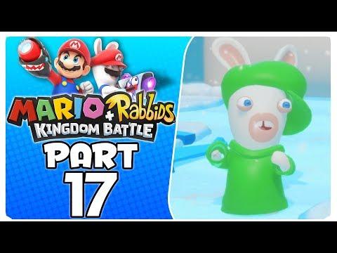 "Mario + Rabbids Kingdom Battle - Part 17 | World 2-8 ""Call Of Sherbet Mountain"""