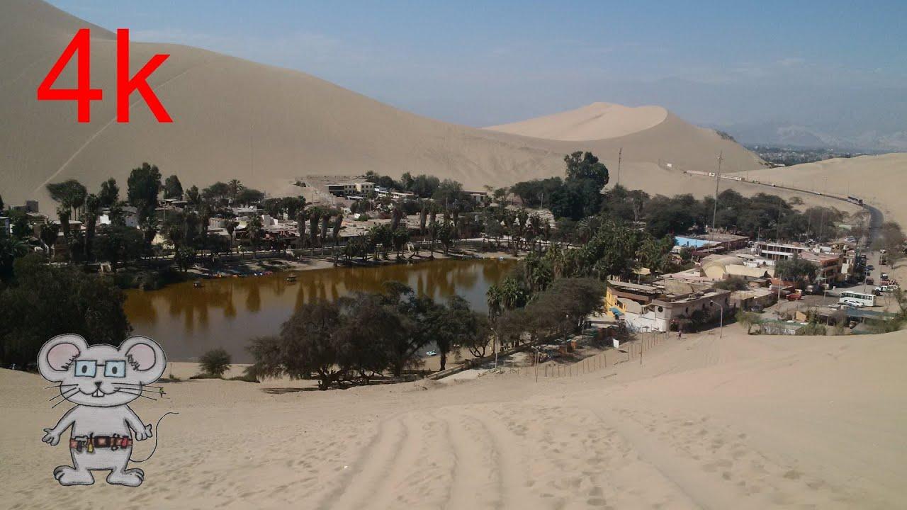 Huacachina Desert Southwestern Peru In 4k