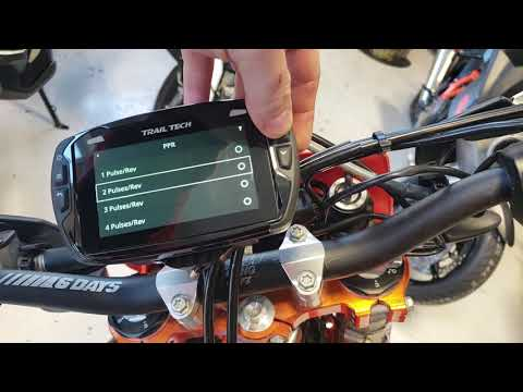 How To Make The Trail Tech Voyager Pro RPM Gauge Work Correctly!
