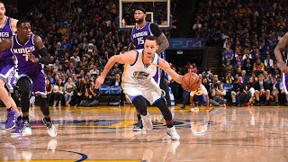 Golden State Warriors Fired Up Moments: GSW Go On a 17-0 Run VS Sacramento Kings