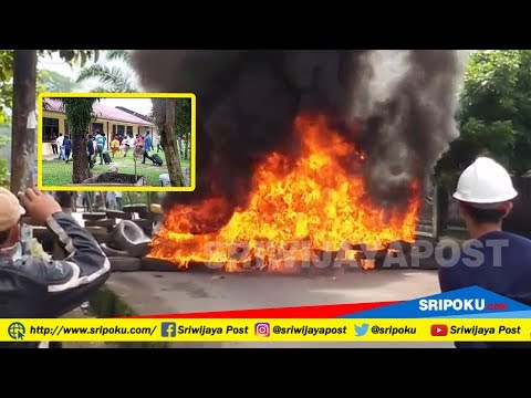 MENCEKAM ! Pagar Api Halangi Eksekusi Lahan PT Damri di Lubuklinggau Timur