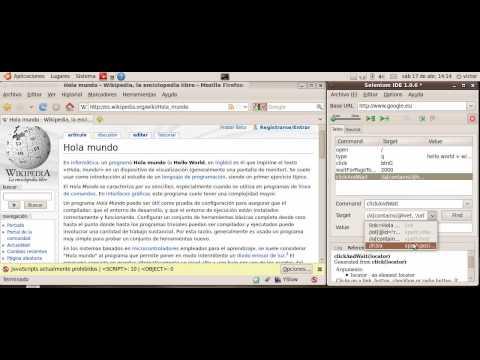 "Example about ""basic"" Functional Testing using Selenium IDE [http://vitopolis.wordpress.com].avi"