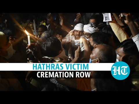 Hathras victim's kin say cops forcibly cremated her body; protests break out