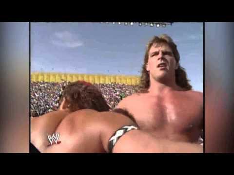 WWF Wrestlemania IX - Shawn Michaels VS Tatanka Highlights thumbnail