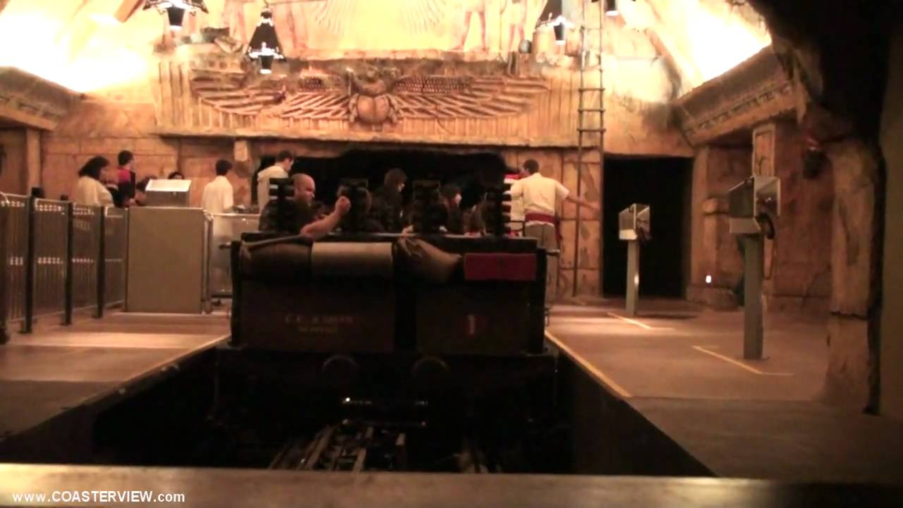 Revenge Of The Mummy The Ride Complete Pov Experience Universal