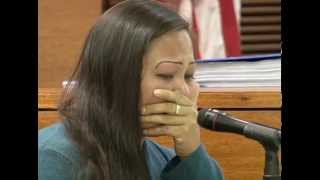 Mother takes stand in baby's murder trial
