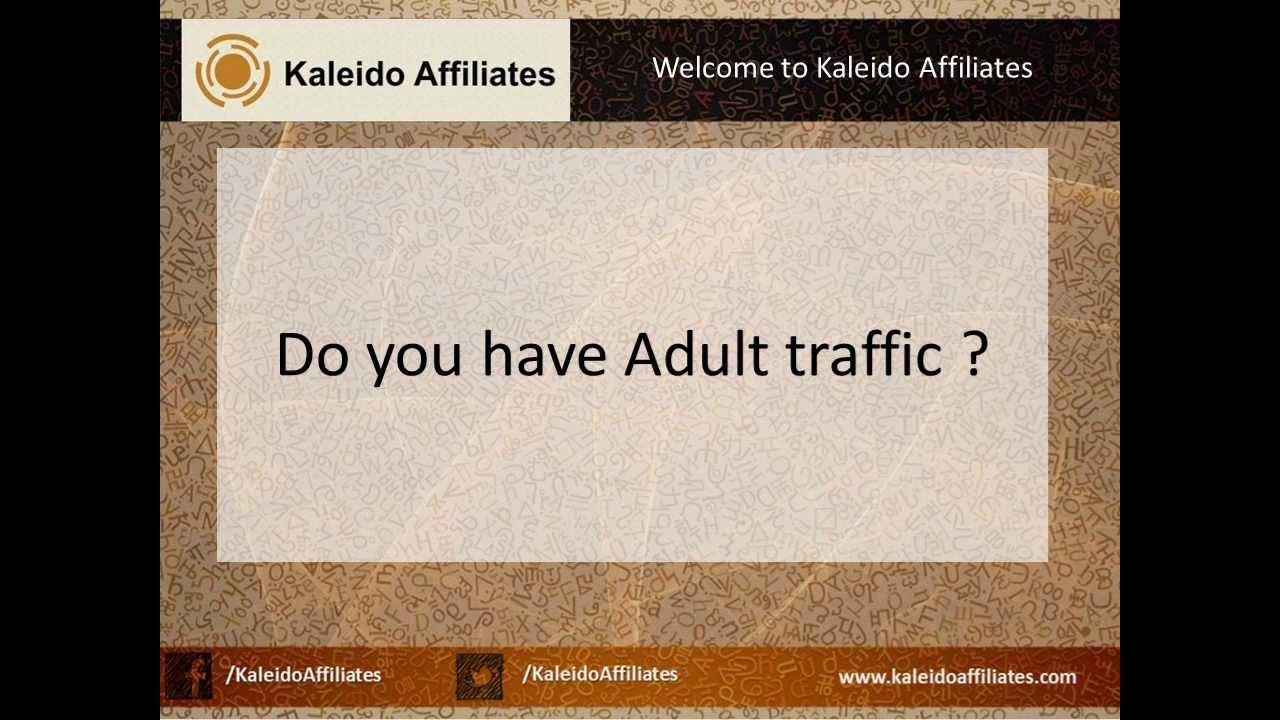 Adult web master affiliate