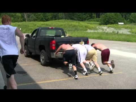 Rocky Boiman Football Academy: Truck Push