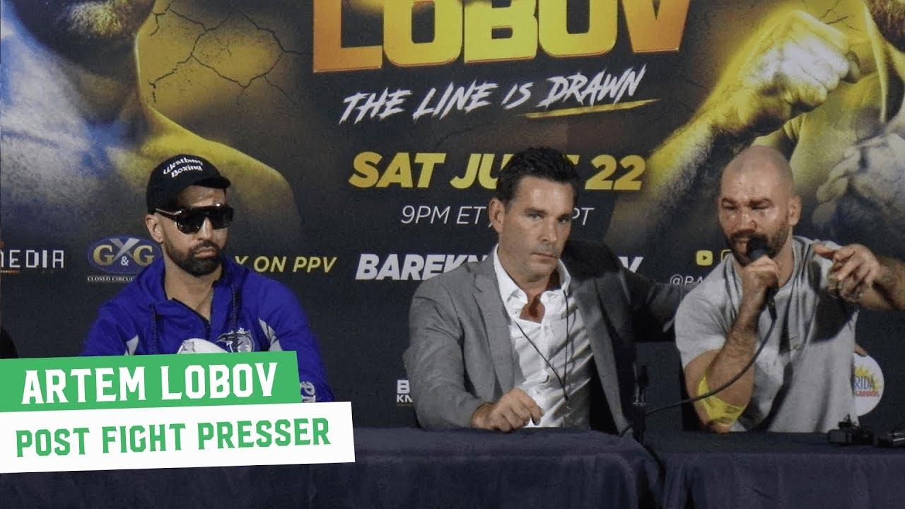 Download Artem Lobov Post-Fight Press Conference | Bare Knuckle FC 6