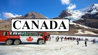 Part 6  Kanada  (Canada Rocky Mountains-Columbia icefields,Athabasca Glacier)