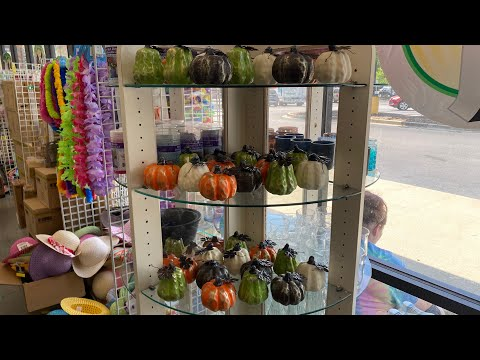 🌲 DOLLAR TREE WALKTHROUGH | FALL IS COMING TO DOLLAR TREE 🌲 NEW FINDS 💚