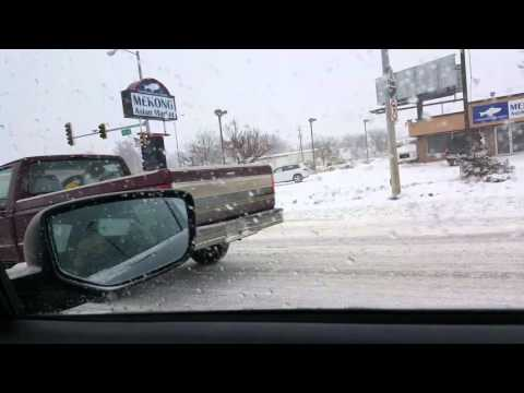 Way to work in Sioux Falls SD, USA