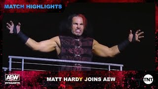 Matt Hardy shocks the Inner Circle with his AEW debut