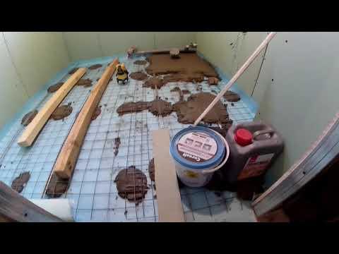 Правильная стяжка на деревянные полы
