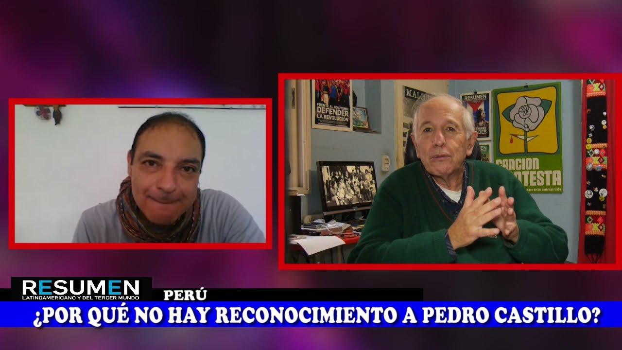 Perú_Pedro Castillo ya es reconocido por su pueblo