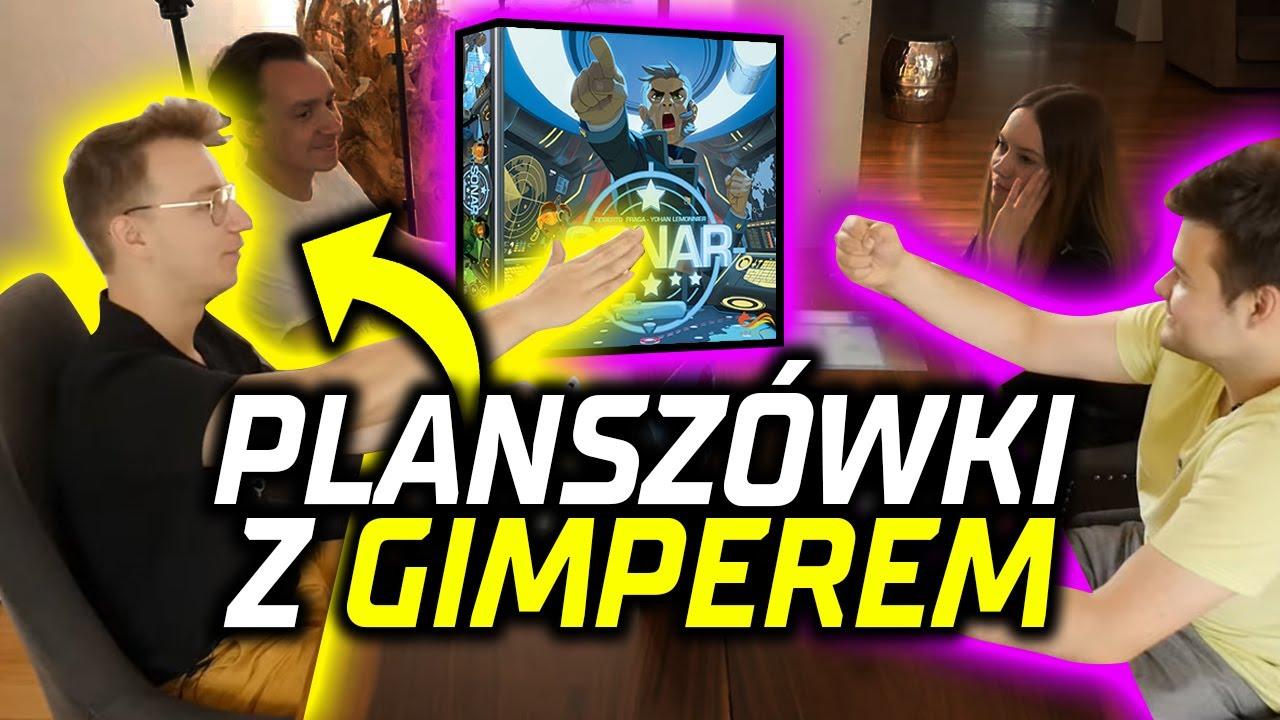 GIMPER GRA Z NAMI W PLANSZÓWKI! 😮🎲
