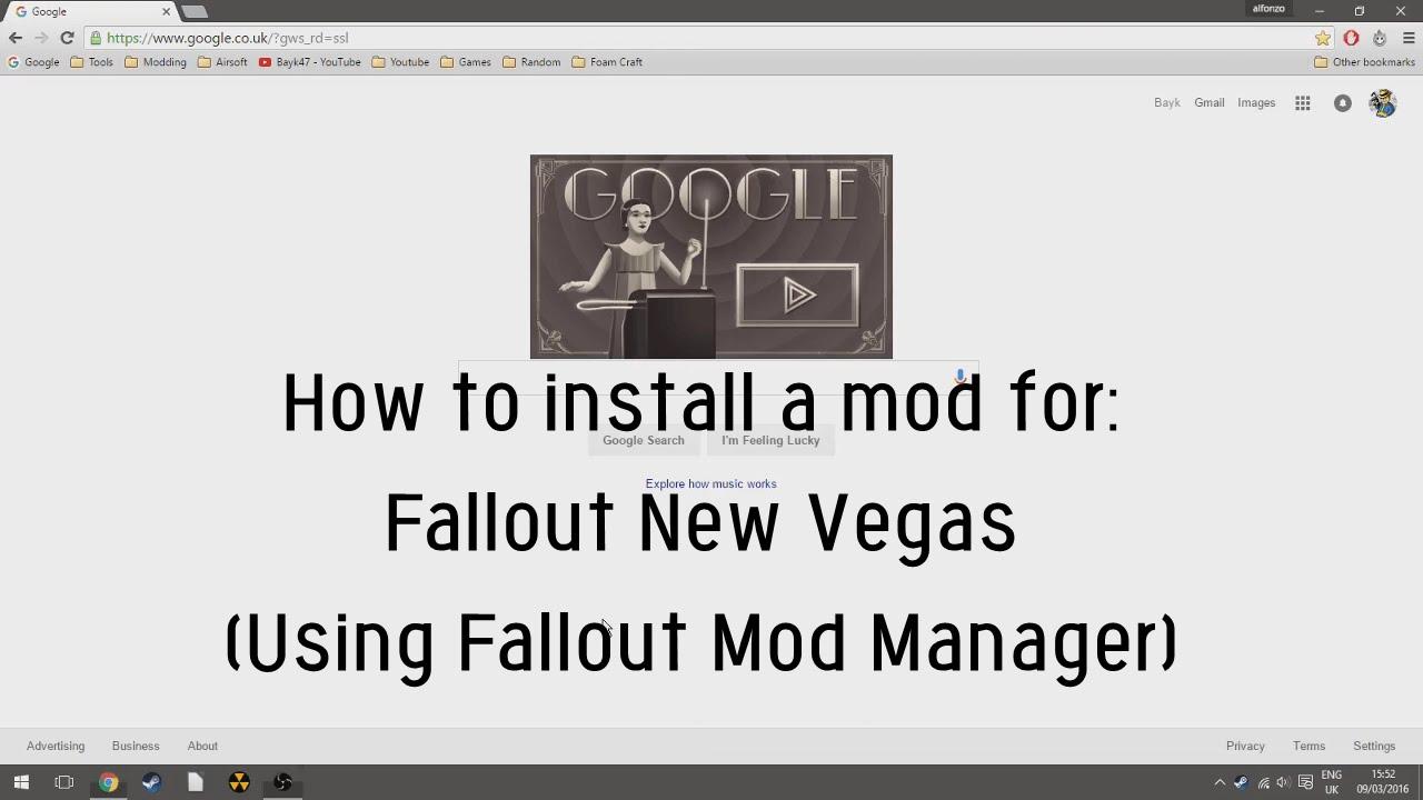 Скачать fallout mod manager — для игры fallout: new vegas.